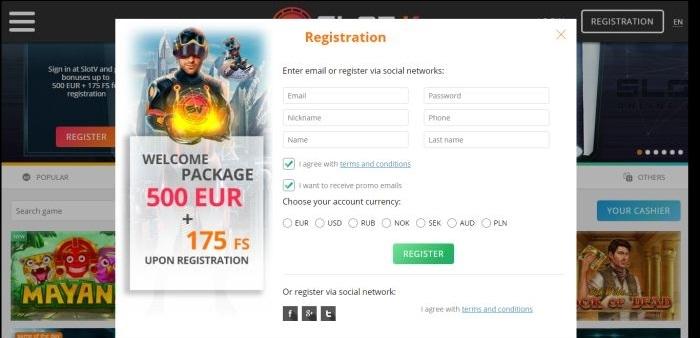 Бесплатные Вращение за Регистрацию в Онлайн Казино